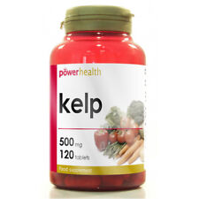 Potencia salud Kelp 500mg 120 Tabletas