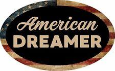TRUMP AMERICAN DREAMER IMMIGRATION BORDER WALL SUPPORT MAGA STICKER DECAL BUMPER