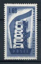 Italia Repubblica 1956 Sass. 804 Nuovo ** 40% Europa CEPT