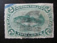 NEWFOUNDLAND Sc. #38 scarce used stamp! #2 SCV $45.00