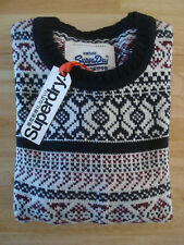 **40% OFF!!** SUPERDRY 'Weisshorn' Fairisle Pattern Knit Jumper / XL / RRP £60