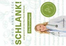 Fleck Anne Schlank! und gesund mit der Doc Fleck Methode Grundlagen BUCH NEU