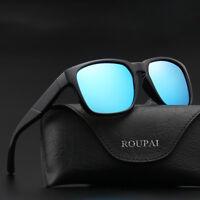 Polarized Mens Retro Pilot UV400 Sunglasses Driving Sport Eyewear Style Glasses
