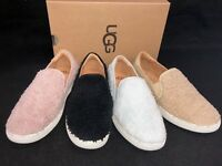 Ugg Australia Ricci Slip On Furry Fuzz Sneakers Fashion Comfort Shoes 1019659
