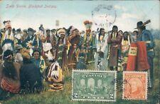 CANADA Scalp Dance Blackfoot Indians 1920s PC