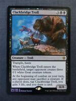 Clackbridge Troll Promo Foil - Mtg Magic Cards #SD