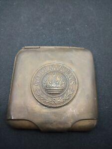 WW I German Cigarette Case , Very Rare .