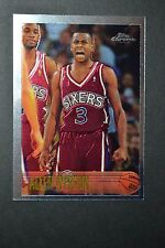 Allen Iverson 1996-97 Topps Chrome Rookie Card #171