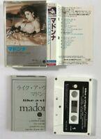 MADONNA Like A Virgin JAPAN CASSETTE TAPE PKG-3056 1984 Sire Warner Pioneer