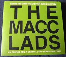 The Macc Lads - An orifice and a genital (Out-Takes 1986 - 1991) CD UK Punk...