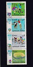 Olympics Used United Arab Emirates Stamps
