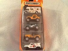 Matchbox 5 Pack Ready for Action MBX Metal #11