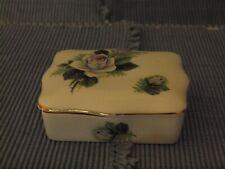 Crown Royal Trent Staffordshire Fine Bone China Rectangular Trinket /Candy Dish