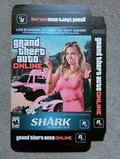 Grand Theft Auto V GTA V Online promotional game Display Box advert RARE