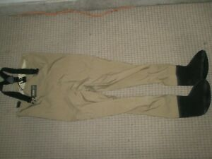 MENS HODGMAN WADELITE WADE LITE FISHING CHEST WADERS SIZE SMALL S