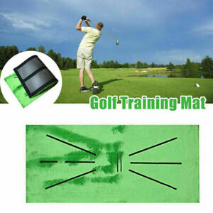 Golf Training Mat for Swing Detection Golf Practice Training Aid Game US Seller