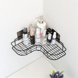 Bathroom Accessories Punch Free Corner Bathroom Shelf Kitchen Tripod Wall Shelf