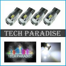 10x Ampoule T10 W5W W3W 6 LED SMD CanBus Anti erreur Blanc White veilleuse 12V