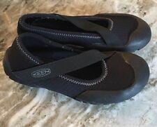 Keen Black Stretch Neoprene  Water Shoe Sandals Slip On Size 6