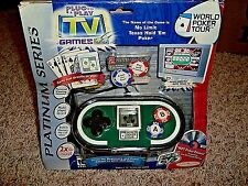 World Poker Tour Plug and Play TV Interactive Game Jakks New In Package WPT