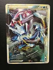 Palkia & Dialga Legend Holographic Promo Jumbo Oversized Pokemon Card Free Ship