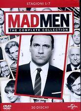 MAD MEN - STAGIONE 01-07  28 DVD COF SERIE-TV con Elisabeth Moss - DVD NUOVO