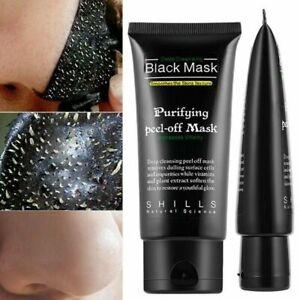 Nettoyant Masque Black Mask Charbon 50 ml Anti Points Noir Acné Visage point