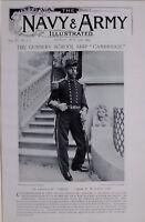 1897 BOER WAR CAPTAIN OF THE CAMBRIDGE WILLIAM M. LANG ~ GUNNERY SCHOOL SHIP