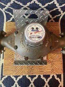 "Neptune Brass 2"" Water Meter, Trident 10"