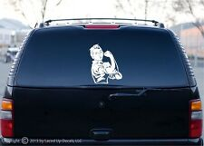 rosie the riveter we can do it car window vinyl decal