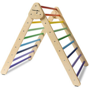 Pikler Triangle / Climbing frame - TINNITOTS - Montessori Inspired - Wooden toys