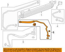Chevrolet GM OEM 14-18 Impala 3.6L Transmission Oil Cooler-Outlet hose 23171463