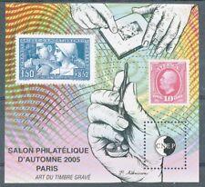 TIMBRE DE FRANCE - Bloc CNEP N° 44** Salon philatélique d'Automne de Paris 2005