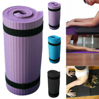 Yoga Mat Pilates Fitness Exercise Gym Workout Thick Non-Slip Pad 60*25*1.5cm