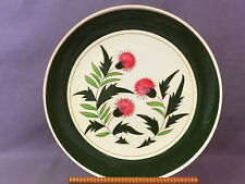 """Excellent Stangl """"Thistle"""" Charger / Chop Plate 12.5 inch Diameter"""