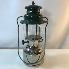 Vtg Coleman 242c 242 Single Mantle Chrome Body Lantern May 1950