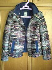 Schicke Napapijri Damen Jacke Tweed Jacke Gr. XL, fällt  aus wie L oder M
