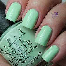 NEW! OPI Nail Polish Vernis THAT'S HULA-RIOUS! ~ Hawaii Light Minty Green