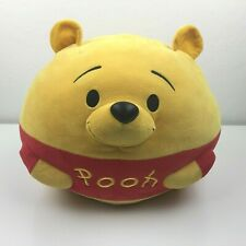 Ty Disney Winnie The Pooh Bear Tsum Large Round Pillow Plush Toy Stuffed Animal