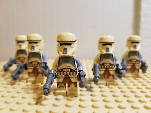 STAR WARS Lot of 5 Scarif Scout STORM TROOPERS SHIPS FREE IN US