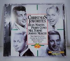 Christmas Favorites, Dean Martin, Perry Como, Mel Torme, J Mercer (CD, 1992)