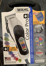 New Wahl Color Pro PLUS Haircutting Clippers 22 Piece Kit 79752T *SHIPS FAST*