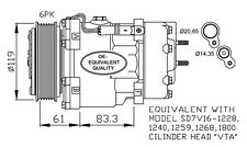 Compressore Lancia Phedra 2.2 JTD Dal 2002 -> Mod. 1