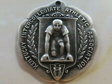 1913 Kentucky Intercollegiate Athletic Association KIAA Medal  Mile Run Sterling