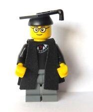 Genuine Lego Man Boy Graduate Graduation Minifigure Glasses  University Student