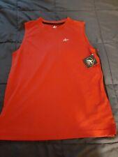 2 Boys Athletech sleeveless tank shirts size Xl 14 /16 (1) gray (1) red Nwt