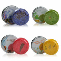 1pc Fragrance Essential Oil Hair and Body Shampoo Bar-Natural-Handmade-Soap-L/_