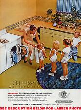 1960s MAG ADVERT KIDS CLOTHES DRYER (1) HQ 8x10 UNIQUE PHOTO   tbr