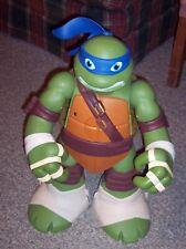 """Teenage Mutant Ninja Turtles Giant 24"""" Leonardo Sewer Lair Transforming Playset"""