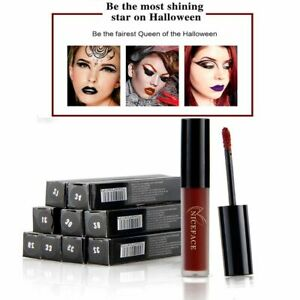 Makeup Luxury Long Lasting Halloween Party Lip Balm Nude Matte Lipstick